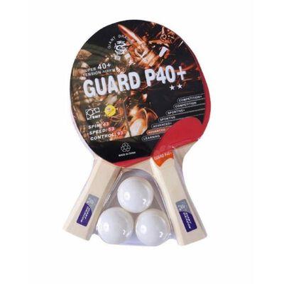 Set De Ping Pong Giant Dragon 2 Paletas, Tres Pelotas