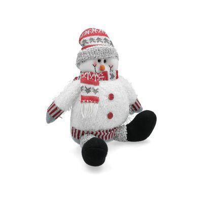 Adorno Navidad Casaideal Mono De Nieve