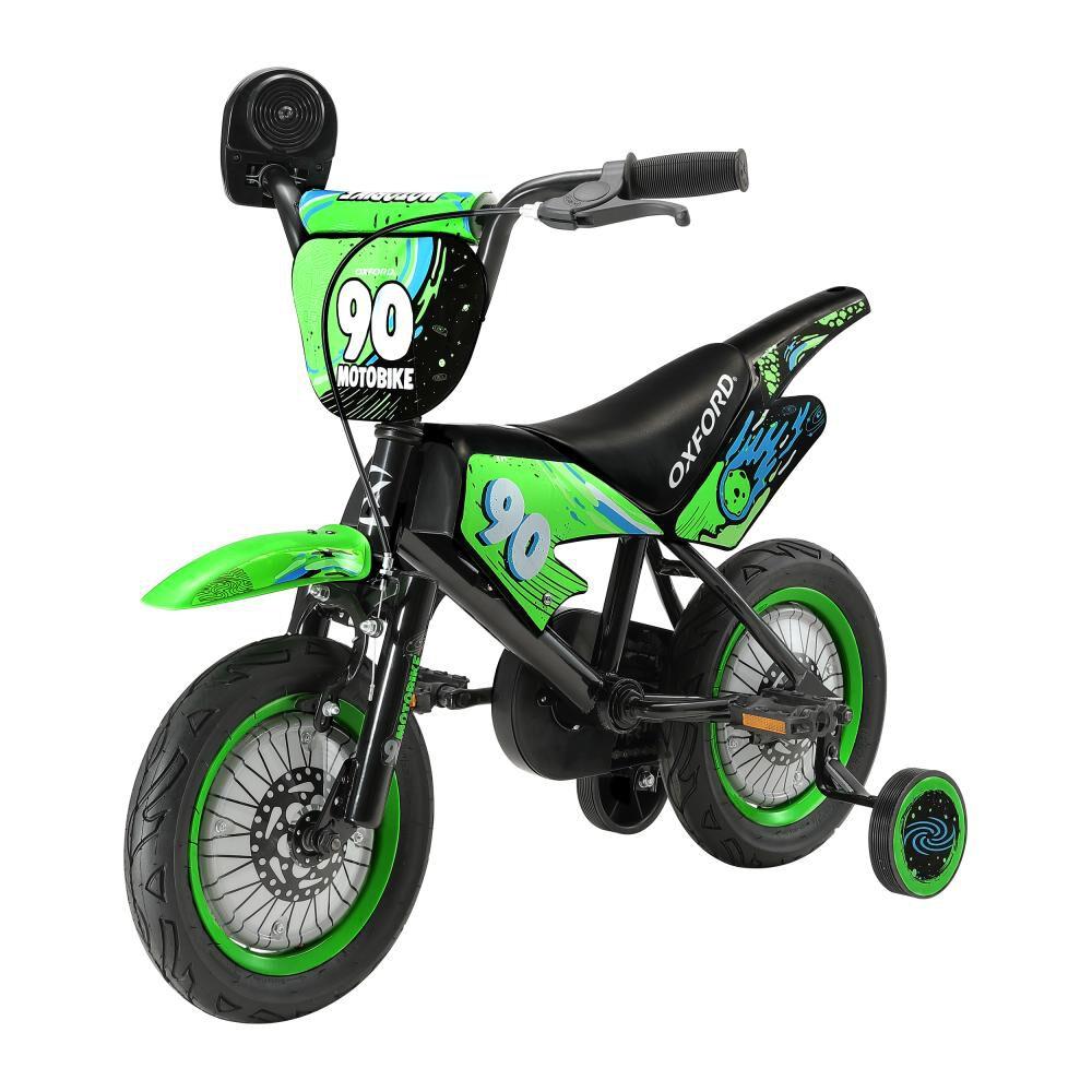 Bicicleta Infantil Oxford Motobike / Aro 12 image number 2.0