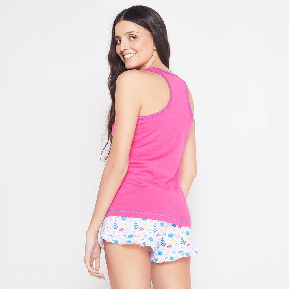 Pijama Musculosa Algodón Mujer Freedom image number 2.0