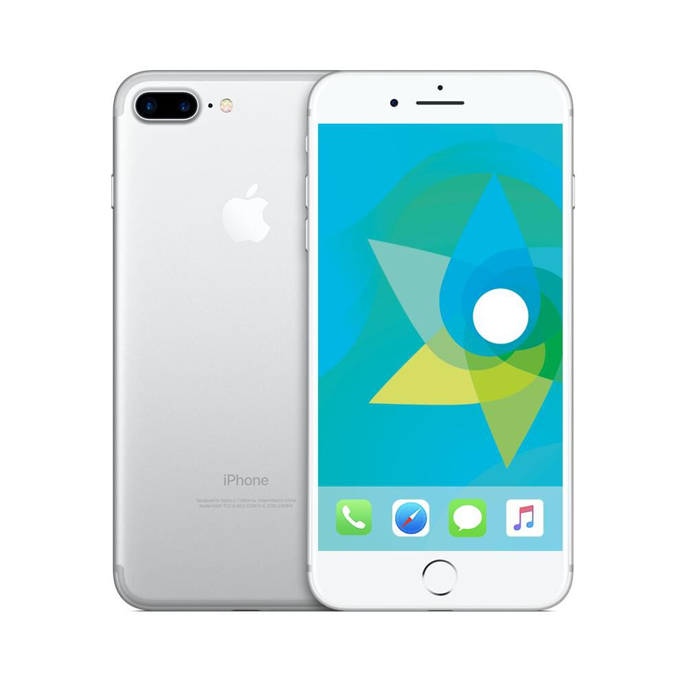 Smartphone Apple Iphone 7 Plus Reacondicionado Plata / 128 Gb / Liberado image number 0.0
