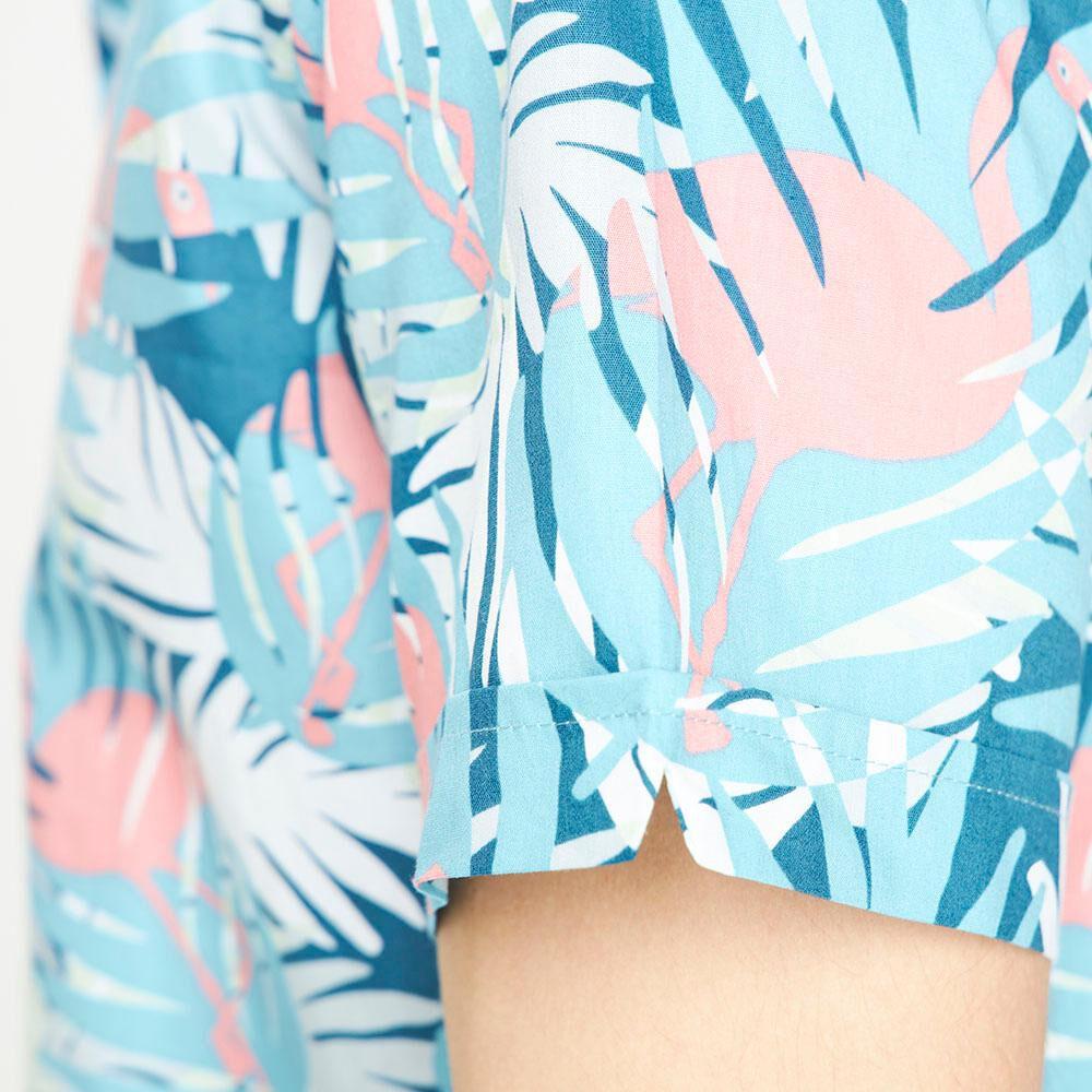 Camisa Manga Corta Con Diseño Hombre Ocean Pacific image number 4.0