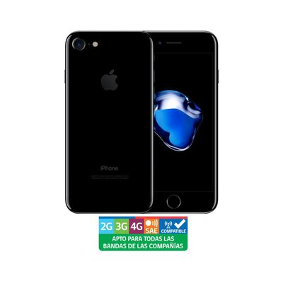 Smartphone Apple Iphone 7 Reacondicionado Negro / 128 Gb / Liberado