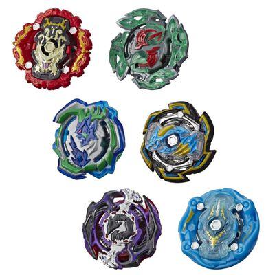 Figura De Accion Bayblades Bey Hs Rock Dragon D5 And Ogre O5