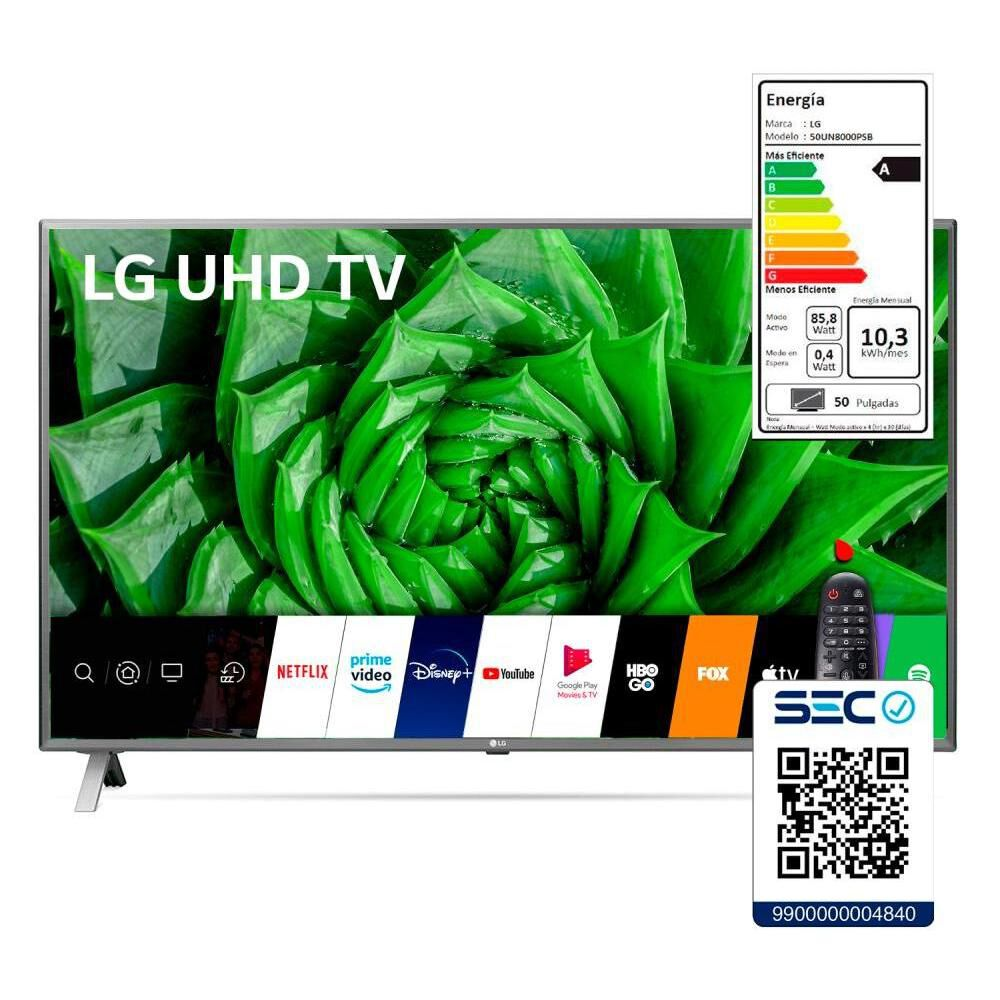 "Led LG 50UN8000PSB / 50 "" / Ultra Hd / 4k / Smart Tv image number 9.0"