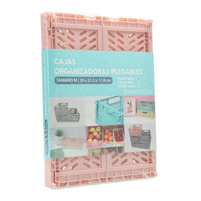 Caja Organizadora Casaideal Pequeña Rosa