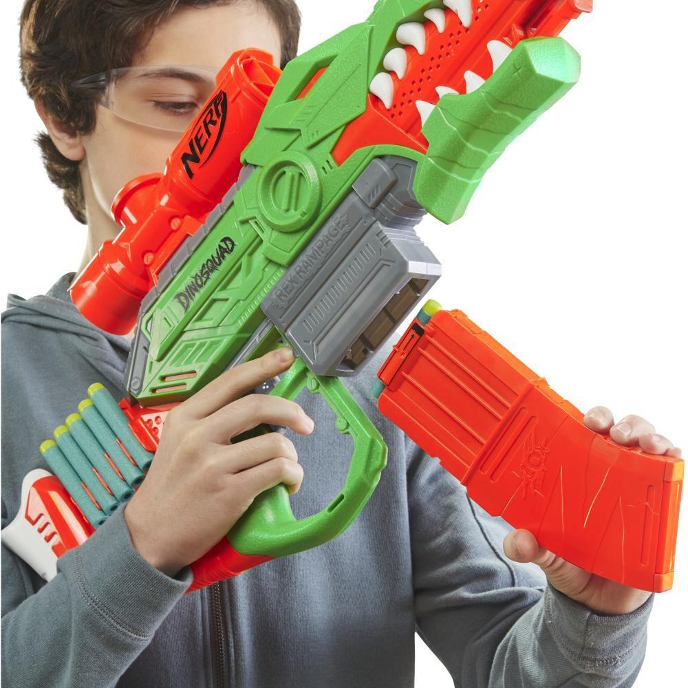 Lanzador De Dardos Nerf Dinosquad Rex-rampage image number 5.0