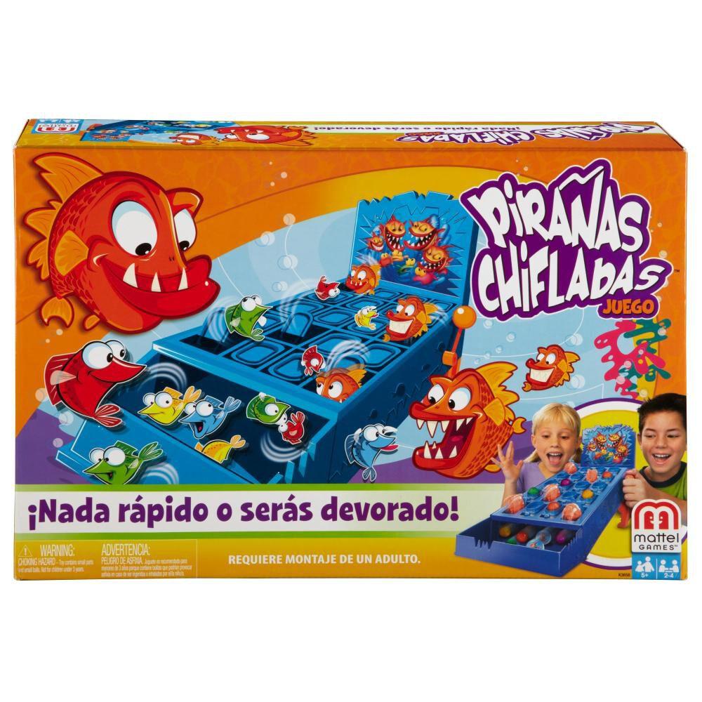 Juegos Mattel Pirañas Chifladas image number 0.0