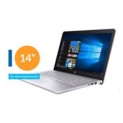 """Notebook Hp 14-ce3065st Reacondicionado / Silver / Intel Core I5 / 8 Gb Ram / Intel Uhd Graphics / 256 Gb Ssd / 14 """"/ Teclado en Inglés"""