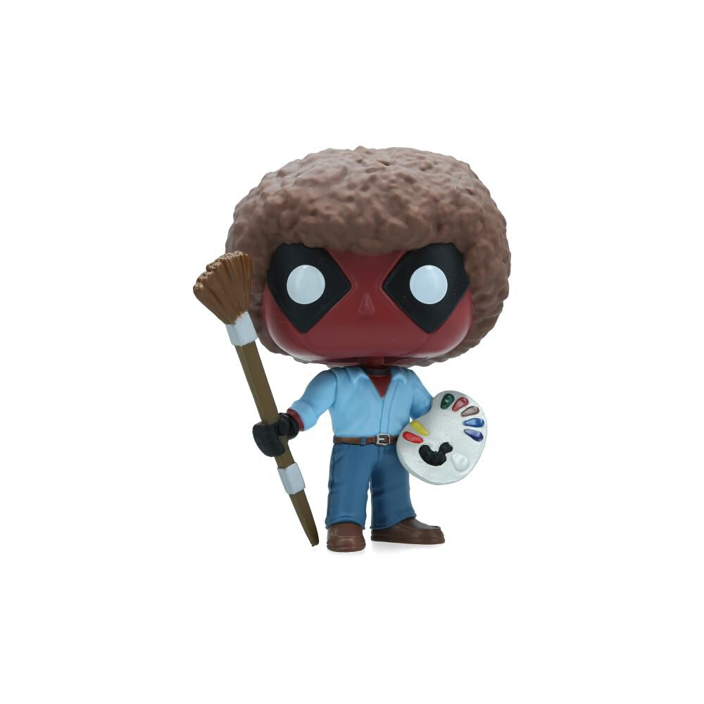 Figuras Coleccionables Funko Deadpool Bob Ross image number 1.0