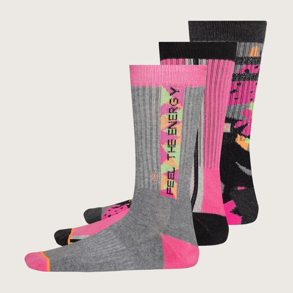 Calcetines Largos Enersocks / 3 Pares image number 0.0