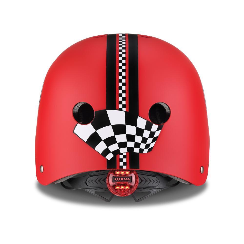 Casco Globber Helmet Elite Lights Red  Xs/S image number 3.0