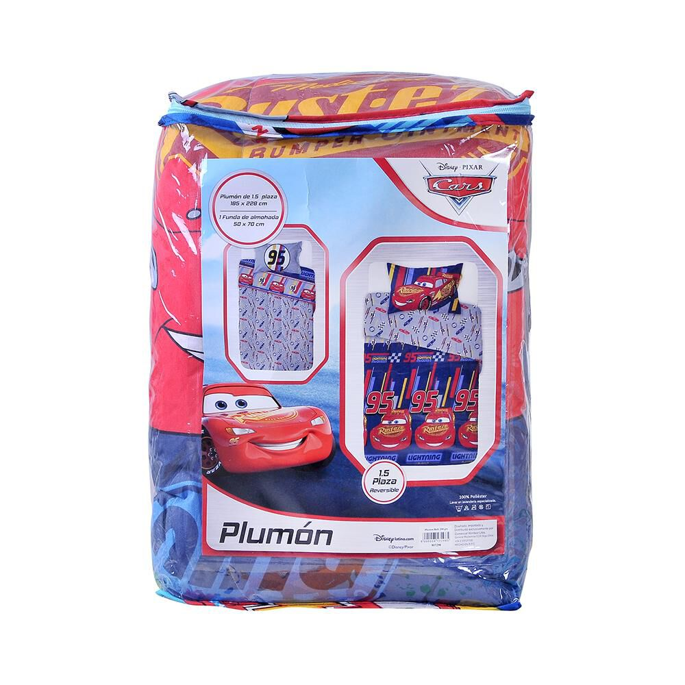 Plumón Disney Cars / 1.5 Plazas image number 2.0