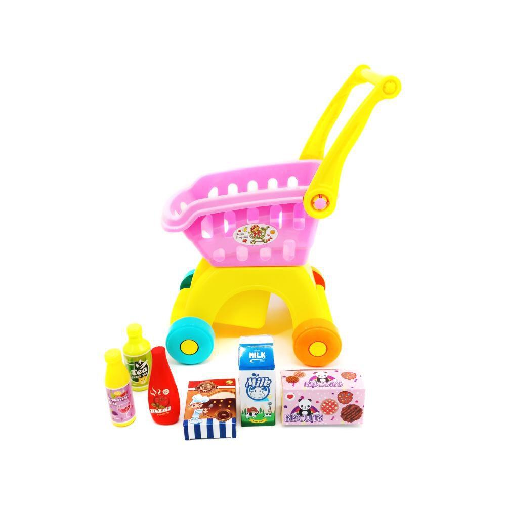 Carro De Supermercado Shopping Cart Play Set image number 1.0