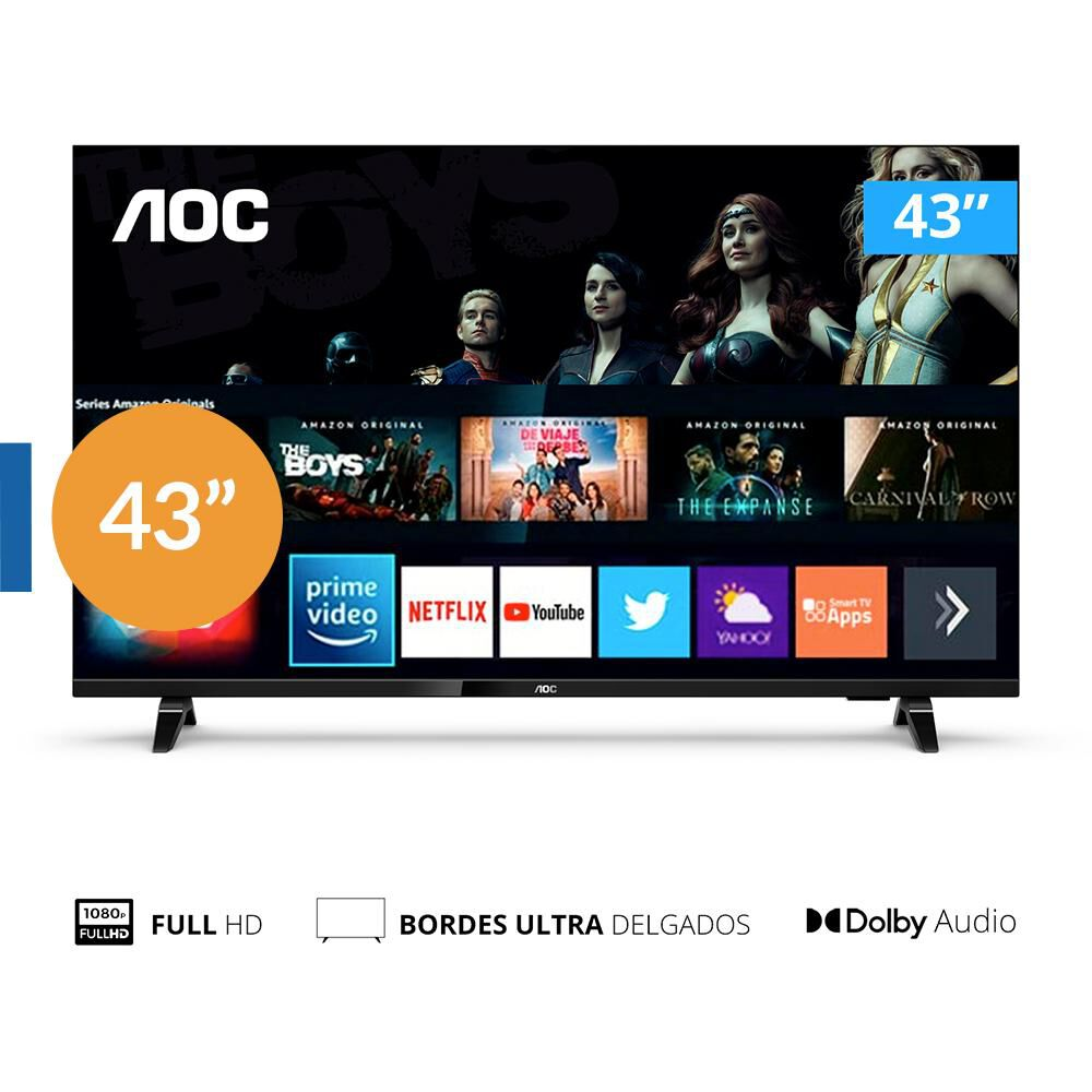 "Led AOC 43S5305 / 43 "" / Full HD / Smart Tv image number 0.0"