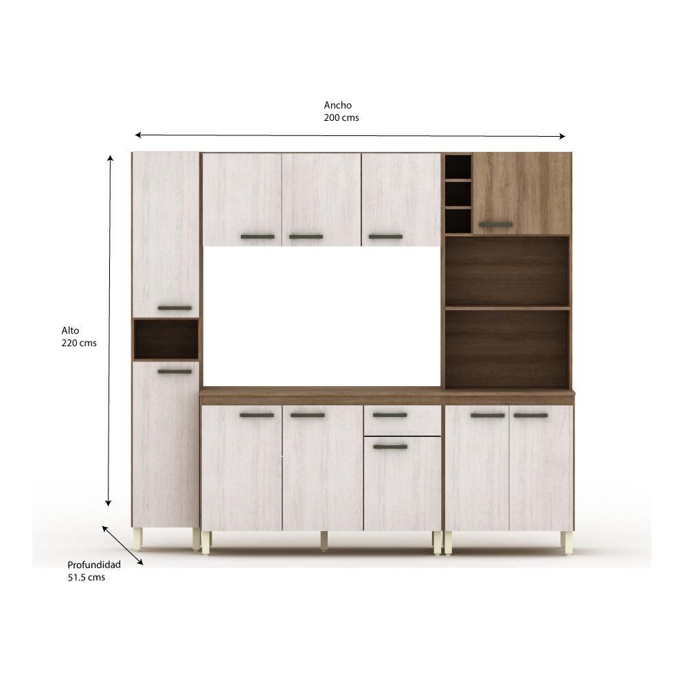 Mueble De Cocina Casaideal Atlas / 11 Puertas / 1 Cajón image number 2.0