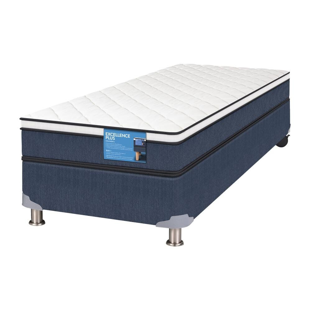 Cama Americana Cic Excellence Plus / 1 Plaza / Base Normal image number 1.0