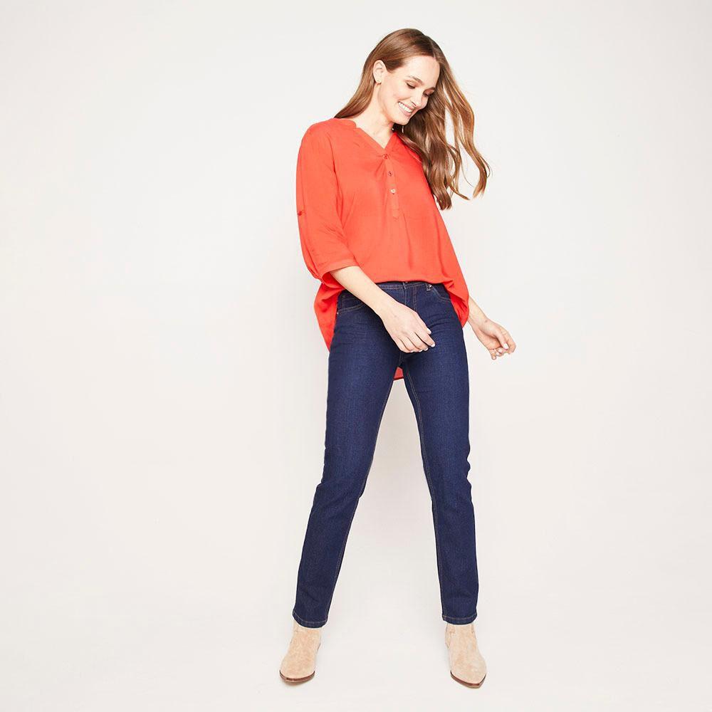 Jeans Tiro Medio Skinny Mujer Geeps image number 1.0