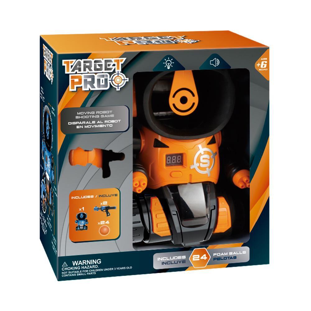 Set Robot Y Pistola Hitoys Shooting Game Orange image number 0.0