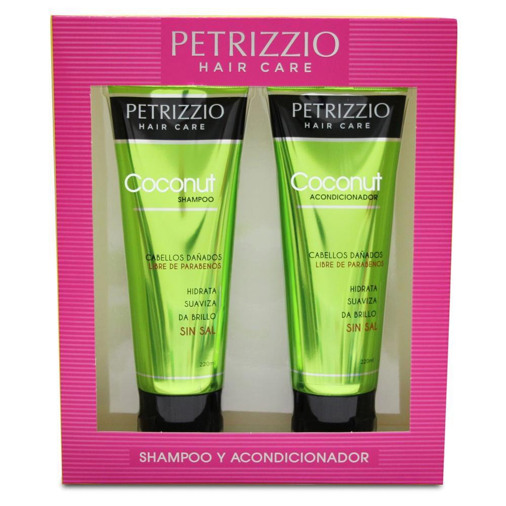 Estuche Petrizzio Shampoo + Acondicionador Coconut image number 0.0