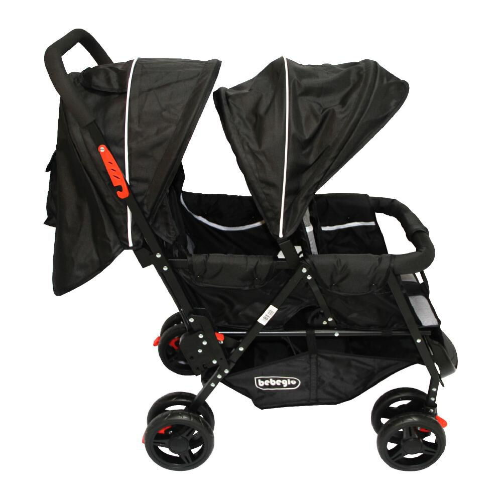 Coches Doble Duo Prix Rs-13300-4 Gris-Negro image number 3.0