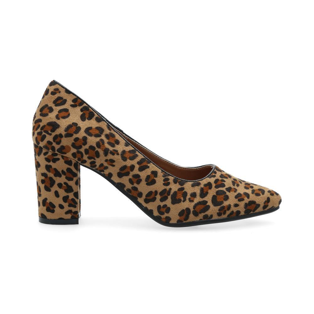 Zapato Con Taco Mujer Kimera image number 1.0