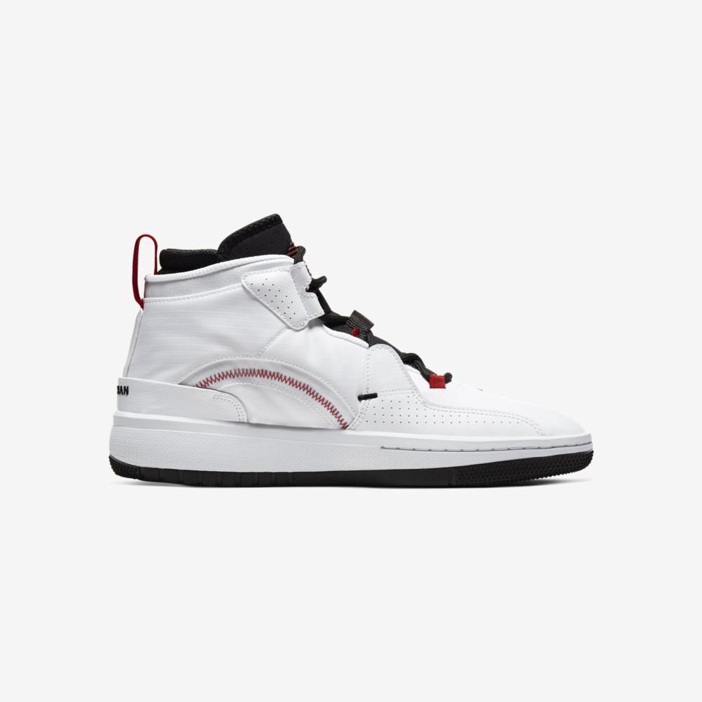 Zapatilla Basketball Hombre Nike Jordan Meta-morph Utility White image number 2.0