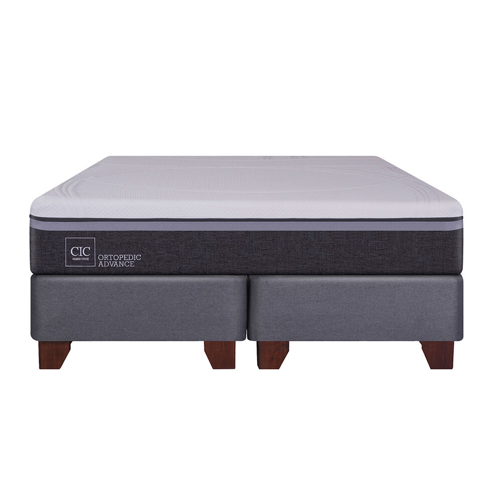 Box Spring Cic Ortopedic Advance / 2 Plazas / Base Dividida image number 1.0