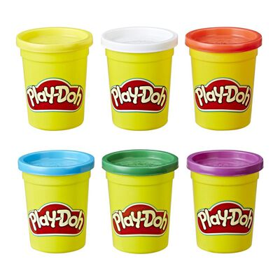 Masas Educativas Play Doh 4+2 Colores Primarios