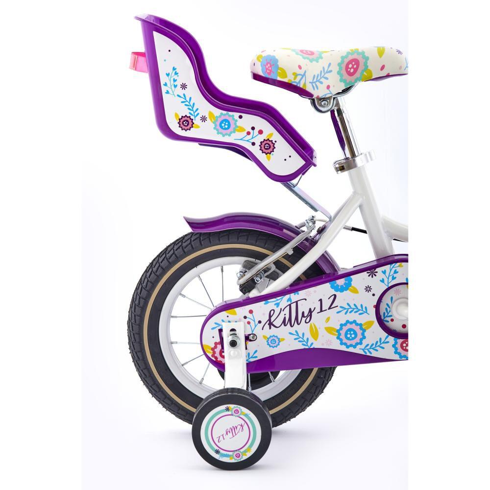 Bicicleta Infantil Bianchi Kitty / Aro 12 image number 1.0