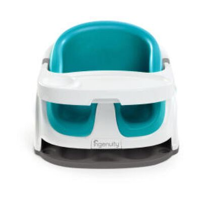 Silla De Comer Portatil Ingenuity 2 En 1 Blue