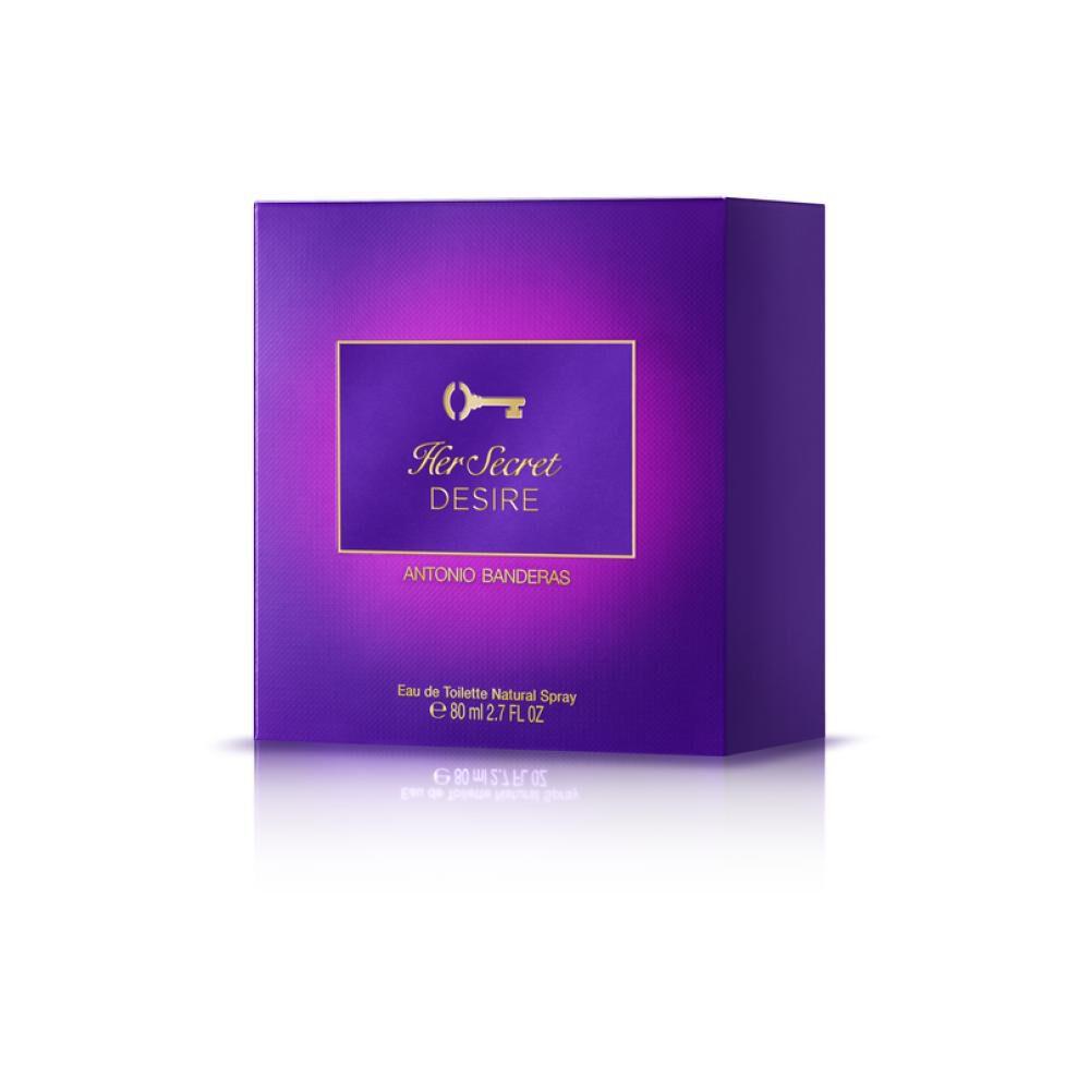Perfume Antonio Banderas Her Secret Desire / 80 Ml / Edt image number 2.0