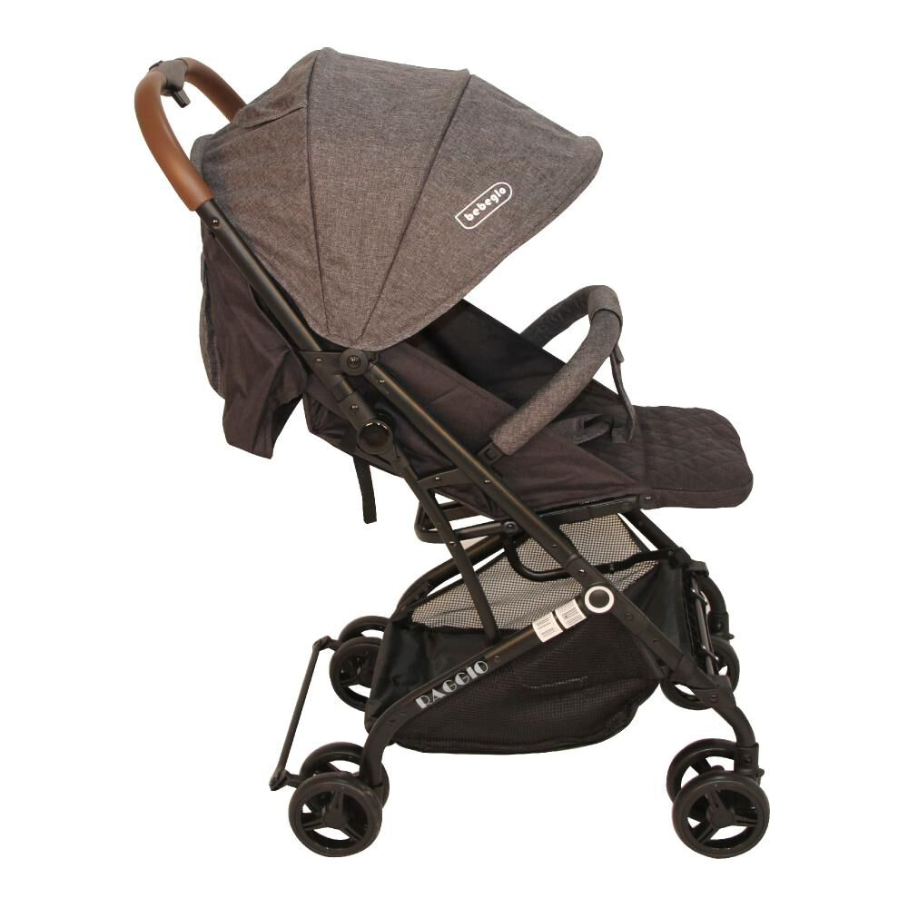 Coche Travel System Compacto Bebeglo RS-13785-3 Gris image number 4.0