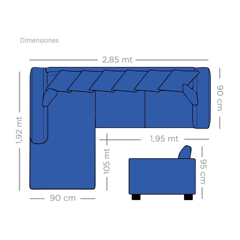 Sofa Seccional Living Factory Venecia / 5 Cuerpos image number 1.0