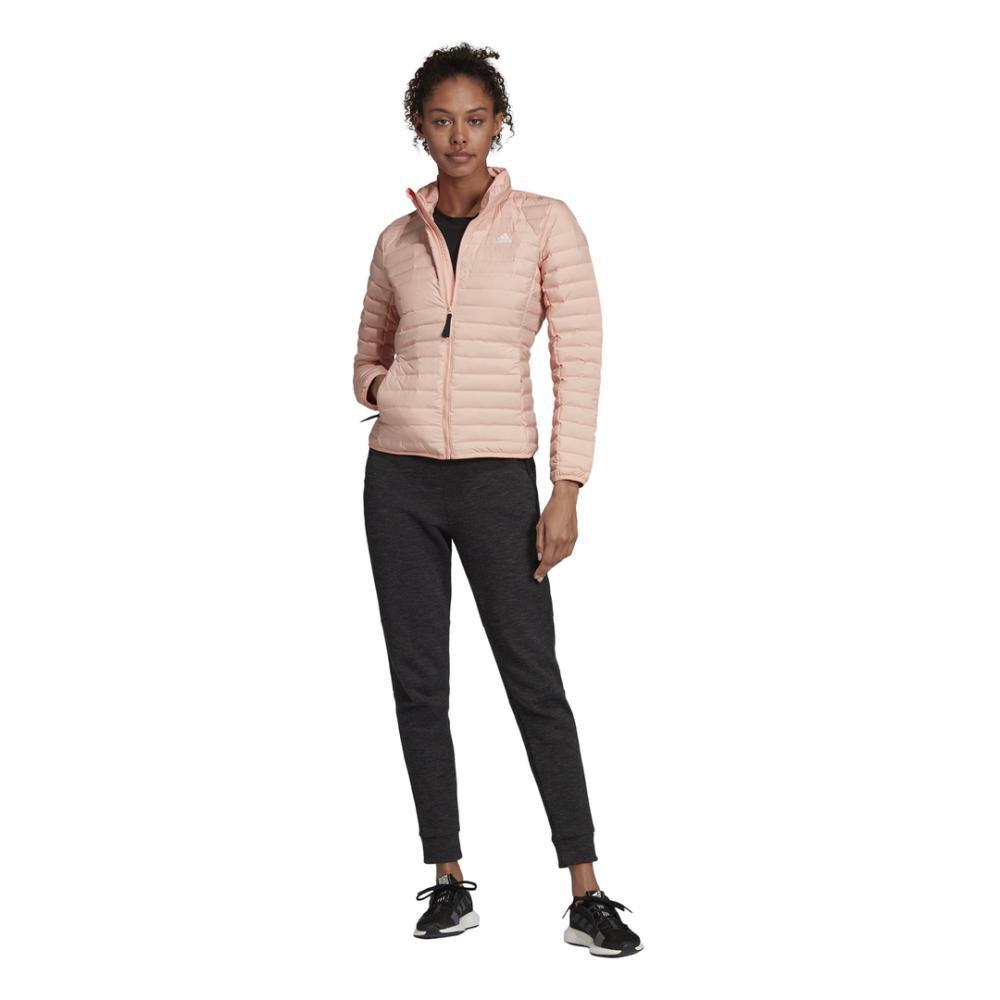 Parka Cuello Alzado Revestimiento Que Repele El Agua (Dwr) Mujer Adidas image number 2.0