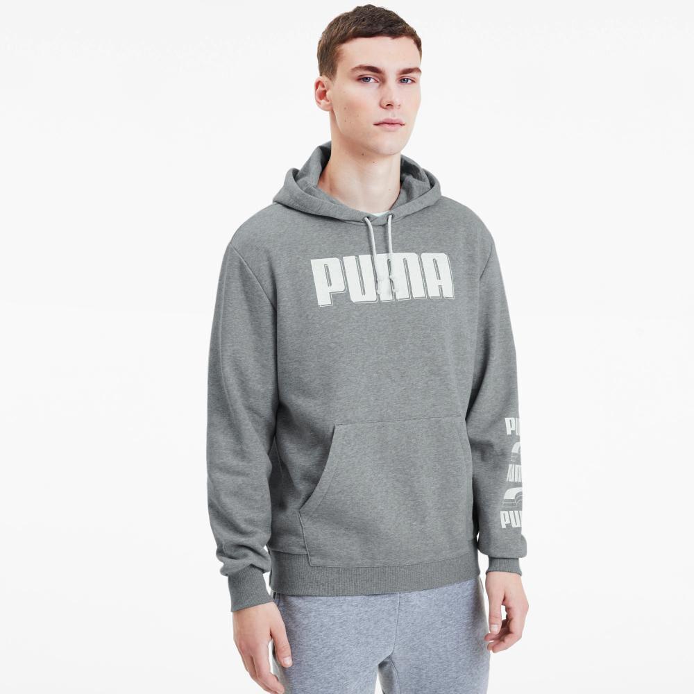 Poleron Deportivo Hombre Puma Rebel Bold image number 2.0