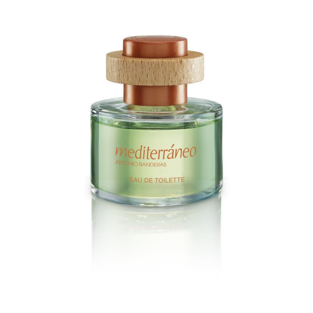 Perfume Mediterraneo Antonio Bandera / 50 Ml / Eau De Toillete + Desodorante image number 1.0