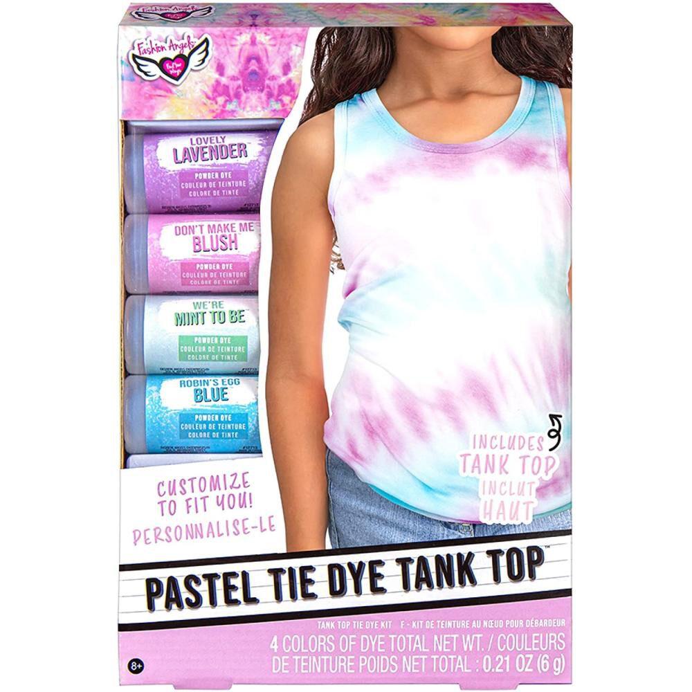 Kit De Teñido Fashions Angels Tie-dye Pastel Tank Top Kit image number 0.0