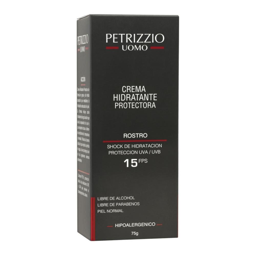 Crema Hidratante Rostro Petrizzio Uomo Fps 15 image number 1.0