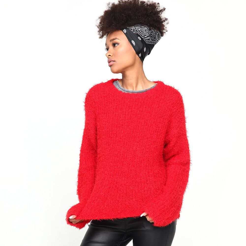 Sweater Peludo Mujer Rolly Go image number 0.0