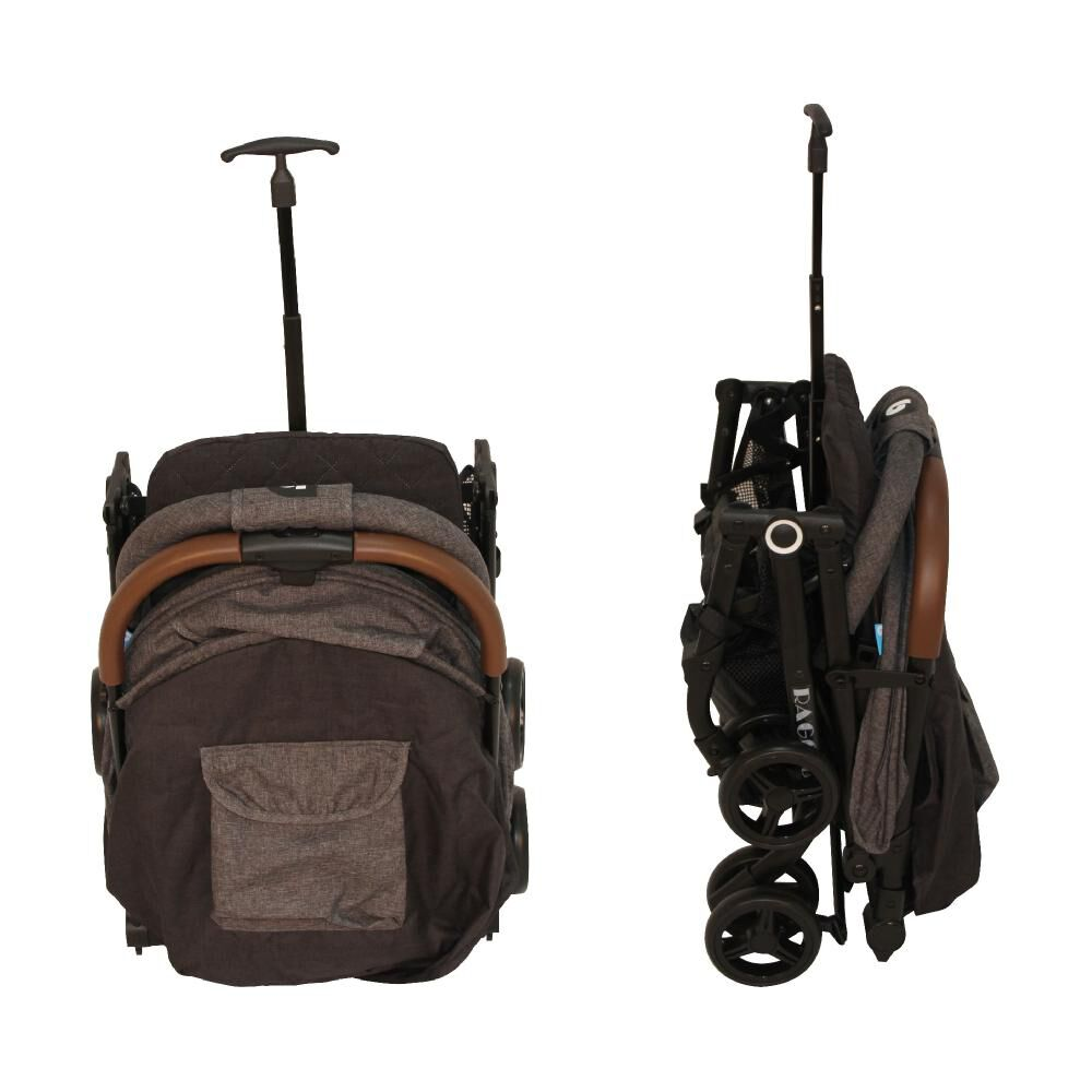 Coche Travel System Compacto Bebeglo RS-13785-3 Gris image number 6.0