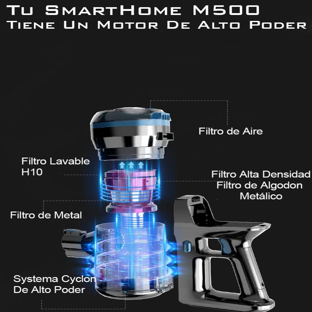 Aspiradora Vertical Ciclónica Tusmarthome Smart Cleaner M500 image number 3.0