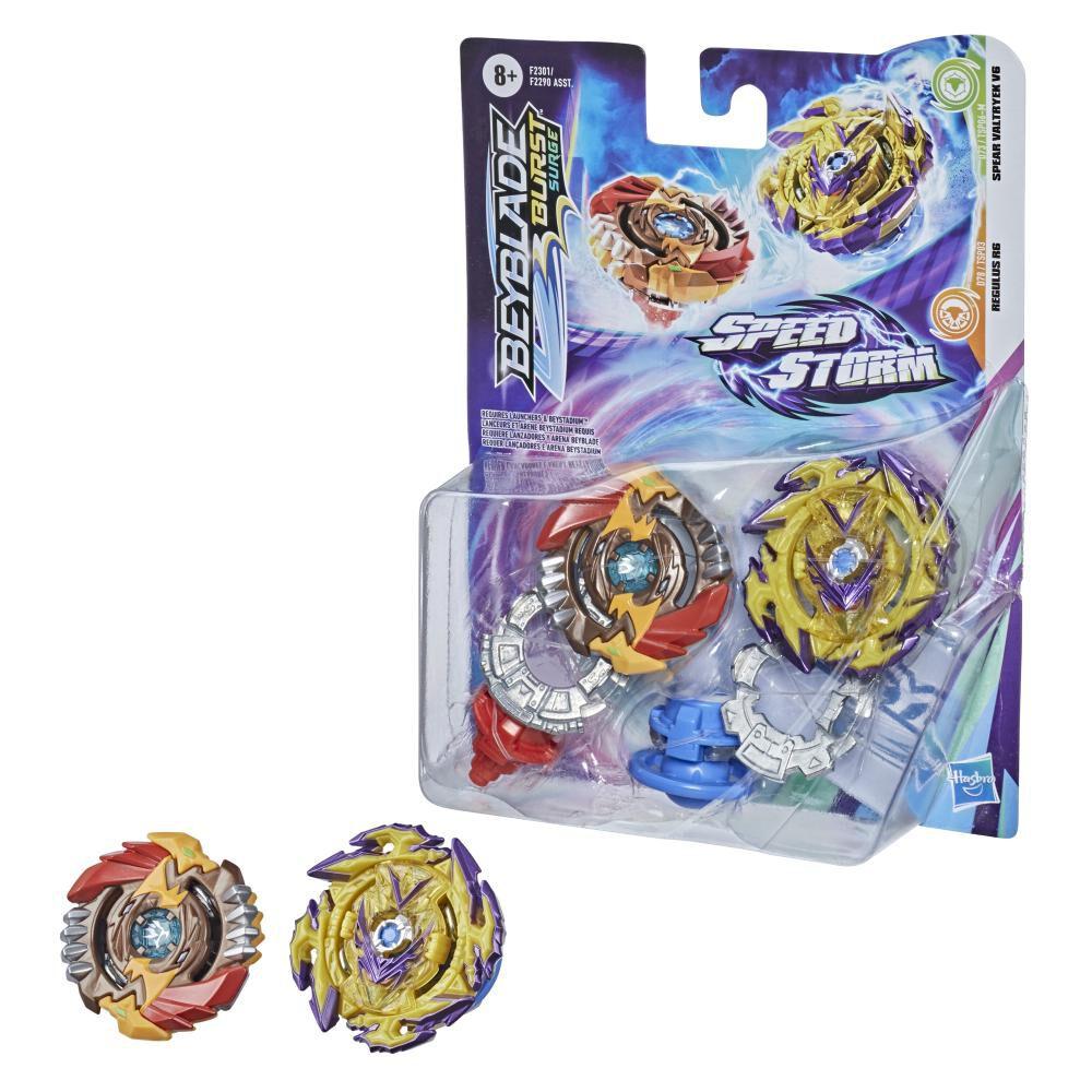 Figura Beyblades Speedstorm Dual Pack image number 2.0