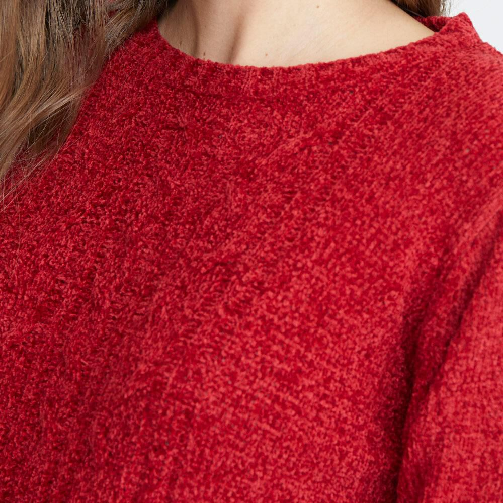 Chaleco Chenille Trenzado Mujer Geeps image number 3.0