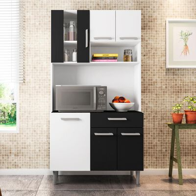 Mueble De Cocina Home Mobili Versace / 6 Puertas / 1 Cajon