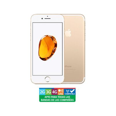Smartphone Apple Iphone 7 Reacondicionado Oro / 128 Gb / Liberado