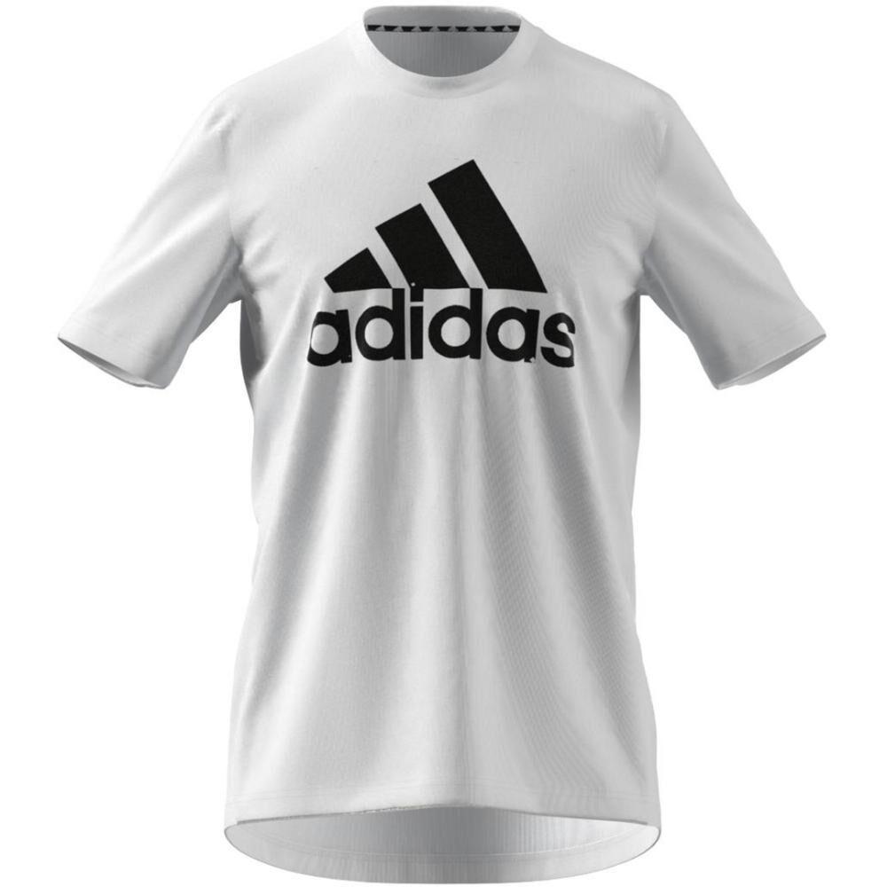 Polera Hombre Adidas D2m Feelready Logo T-shirt image number 5.0