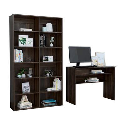 Combo Escritorio Casaideal Office + Biblioteca Casaideal Office
