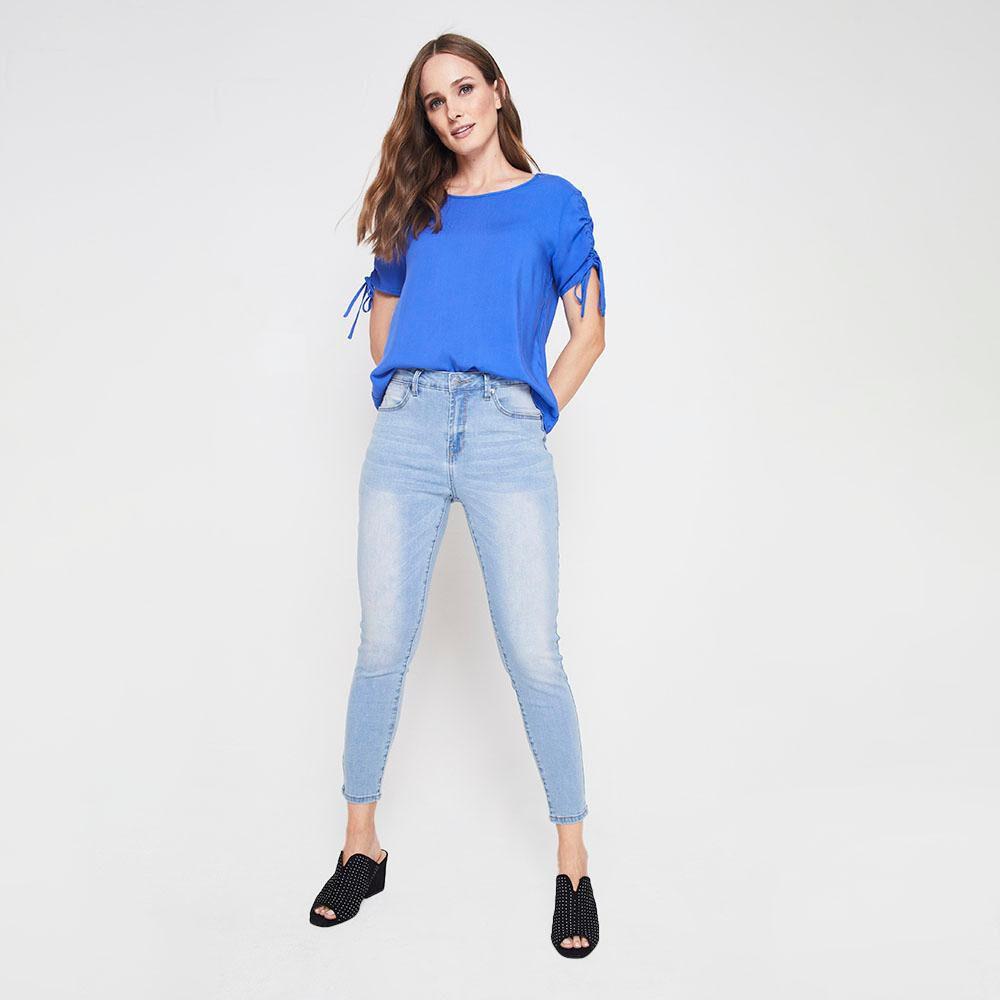 Jeans Mujer Skinny Kimera image number 1.0