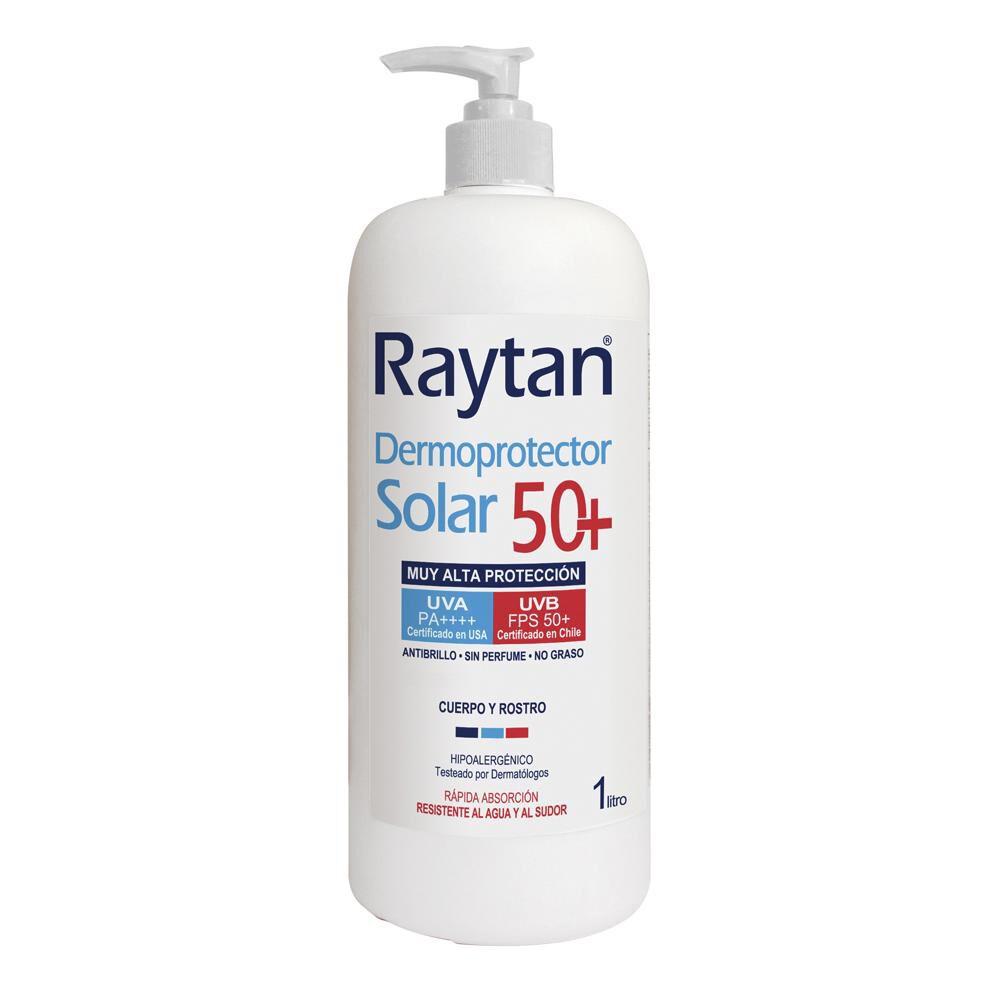 Dermoprotector Solar Raytan Spf 50+ / 1 Litro image number 0.0